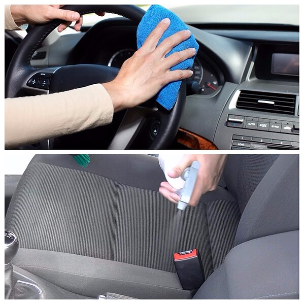 How to clean the stains of your car