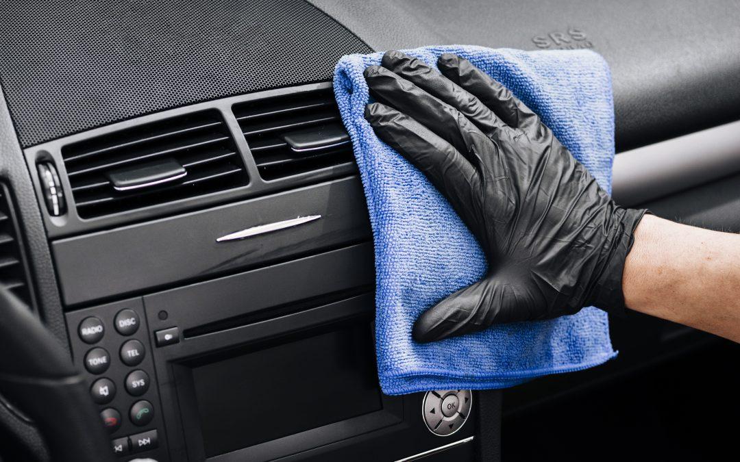 Métodos para desinfectar el interior de tu coche.