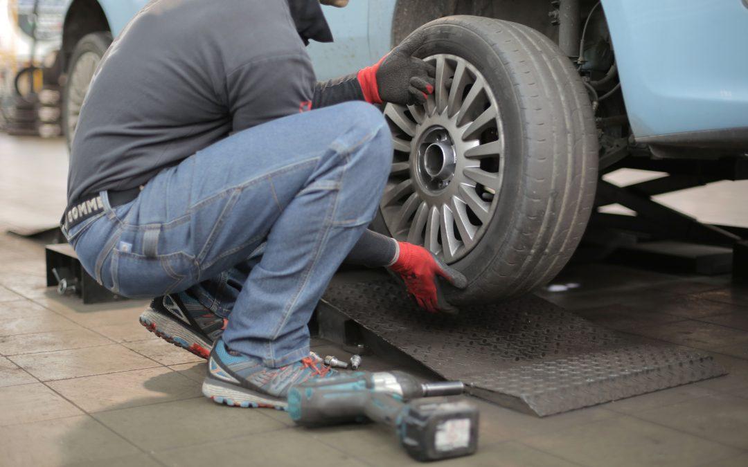 Cambia las ruedas de tu coche ahora